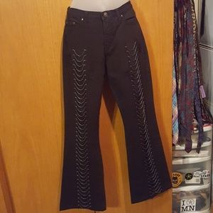 Versace Jeans Couture black with chains